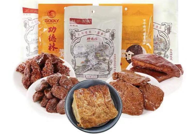 """上海""""功德林""""素食产品"""