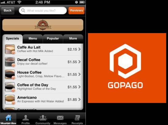 GoPago free tablet retail