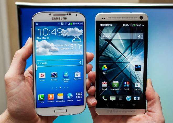 HTC One & Galaxy S4