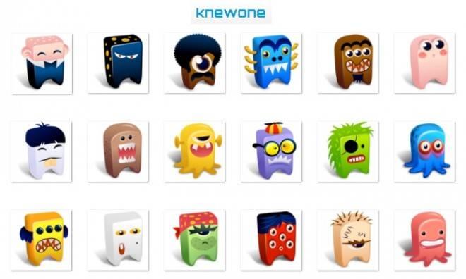 KnewOne logo family