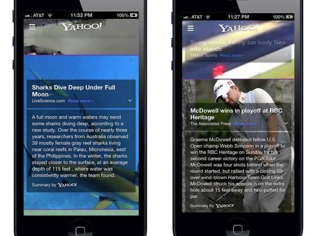 Yahoo! brand app