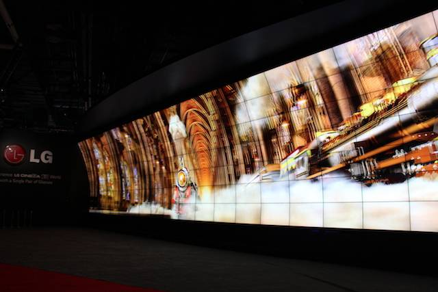LG big screen