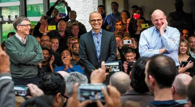 微软宣布 Nadella 担任 CEO