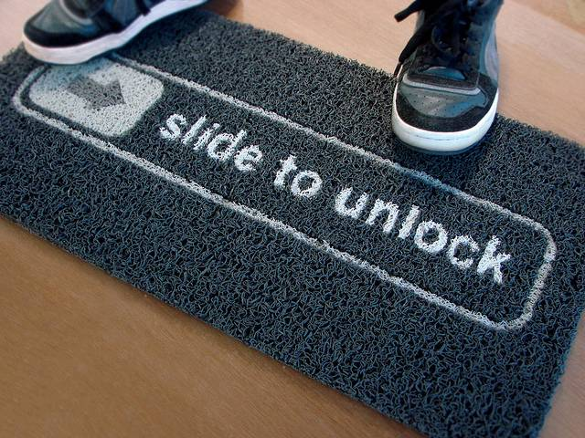 slide-to-unlock