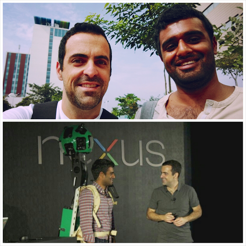 Hugo Barra and Jai Mani