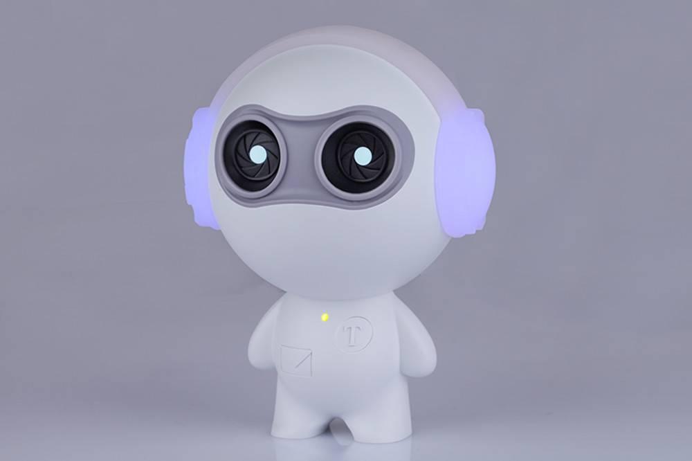 有了萌萌哒的语音互动机器人,永远和宝宝是零距离