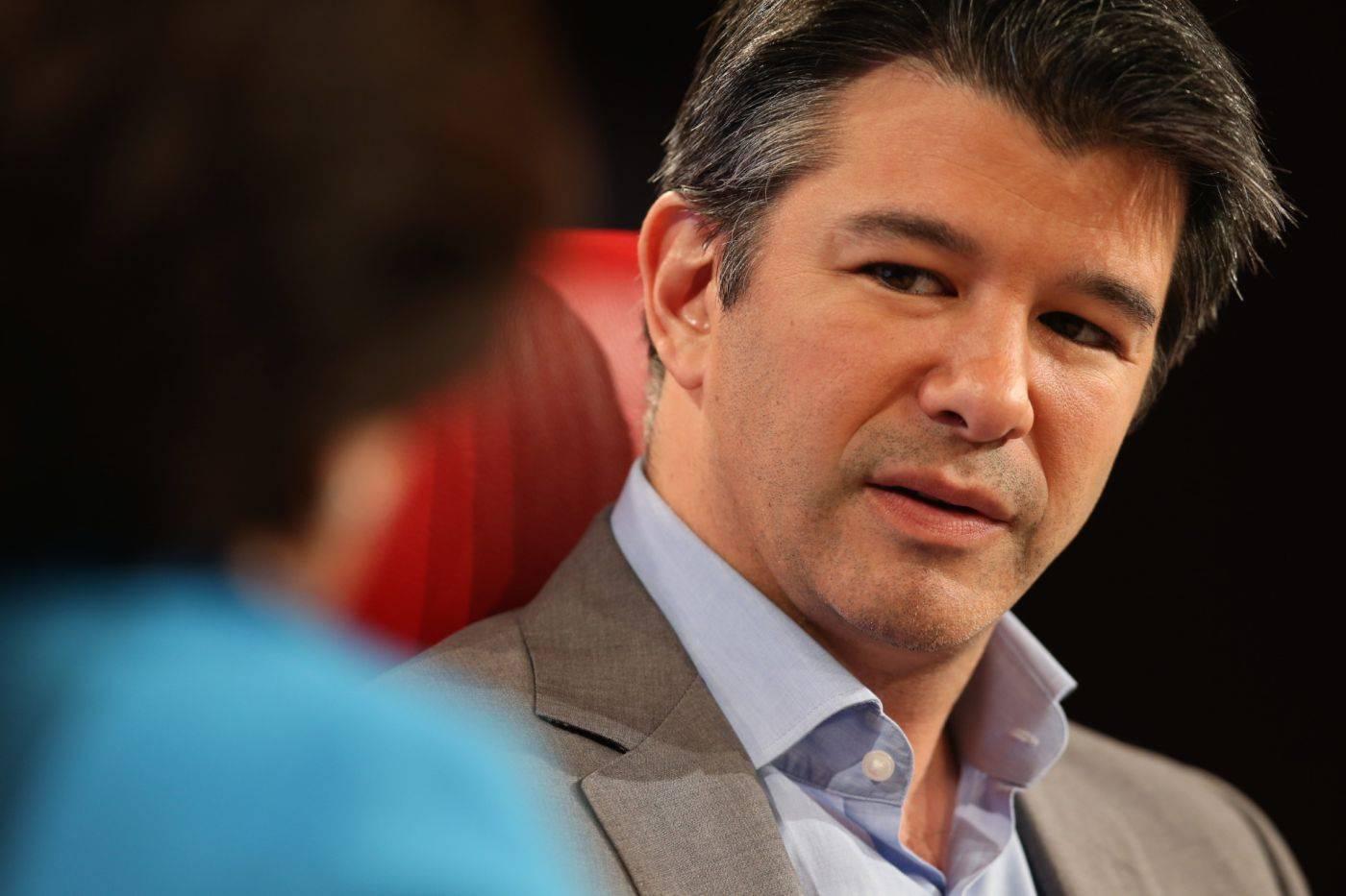 Uber CEO 特拉维斯·卡拉尼克