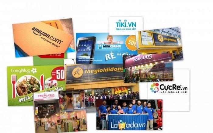 越南市场上的大型电子商务公司 / EcomEye