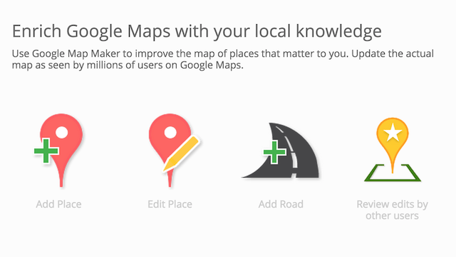 Google Map Maker 2