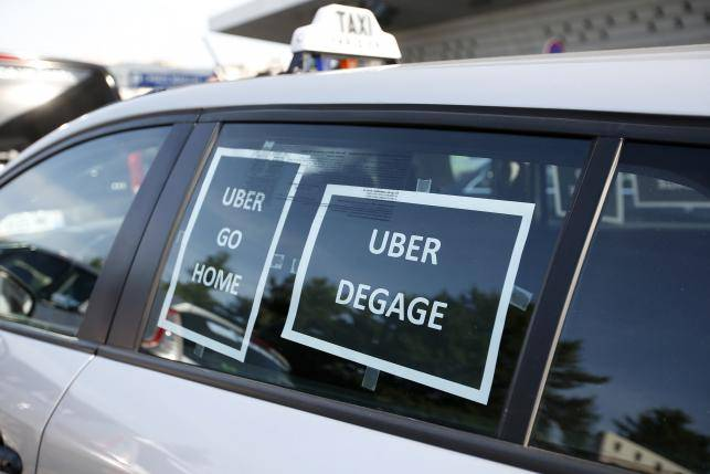 图片来自路透http://www.reuters.com/article/2015/06/25/us-france-uber-idUSKBN0P50RX20150625
