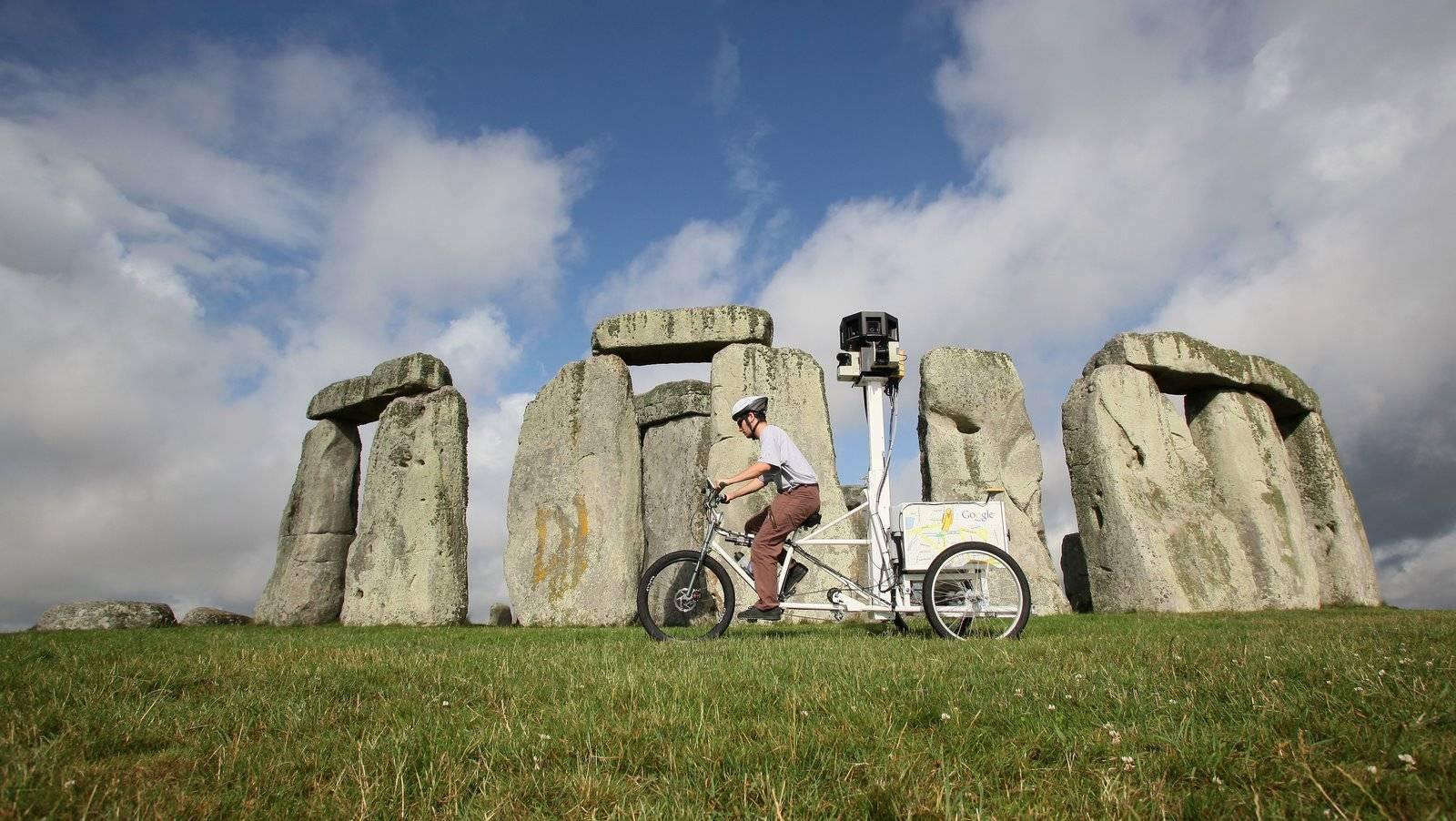 google-street-view-trike-Stonehenge