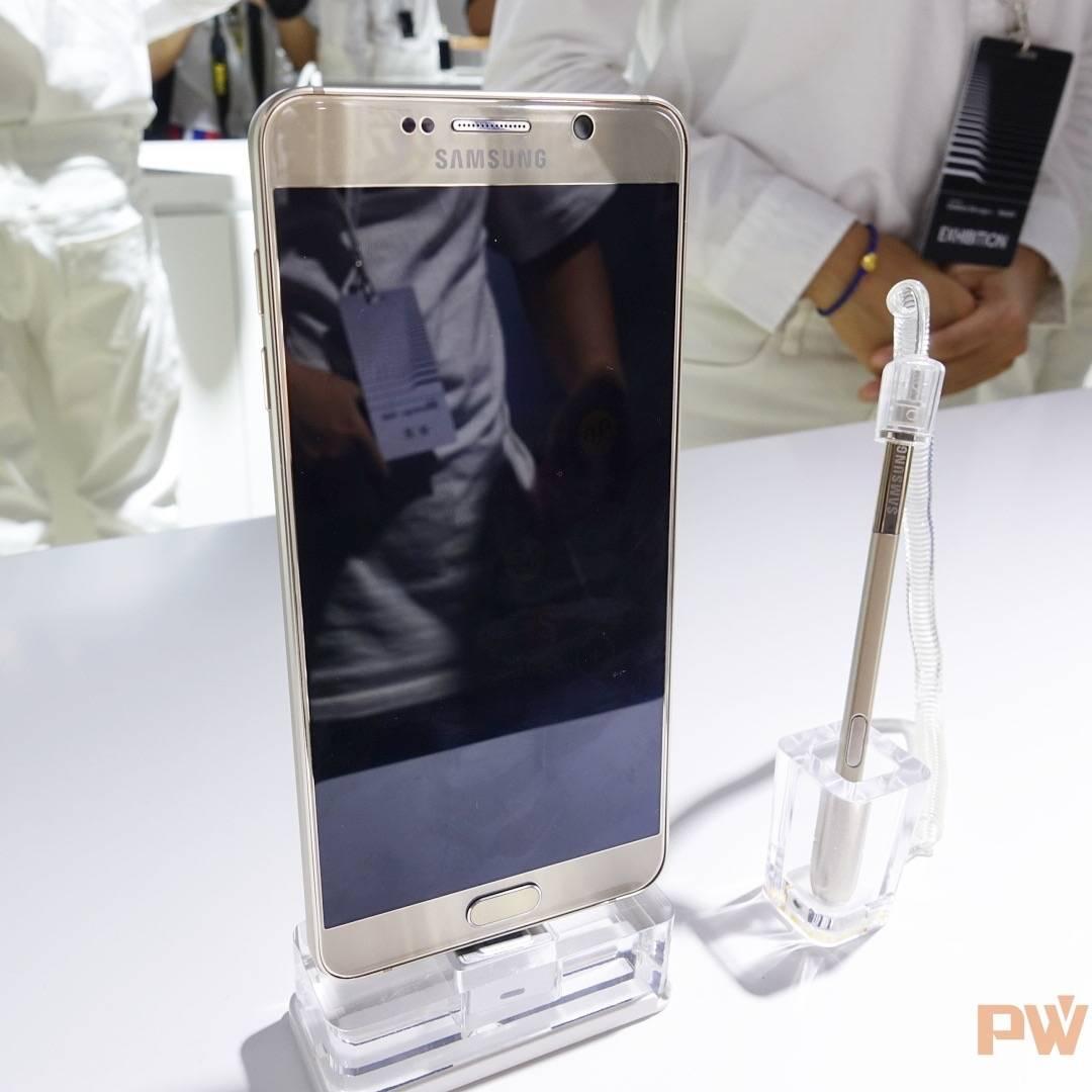 Galaxy Note 5和手写笔