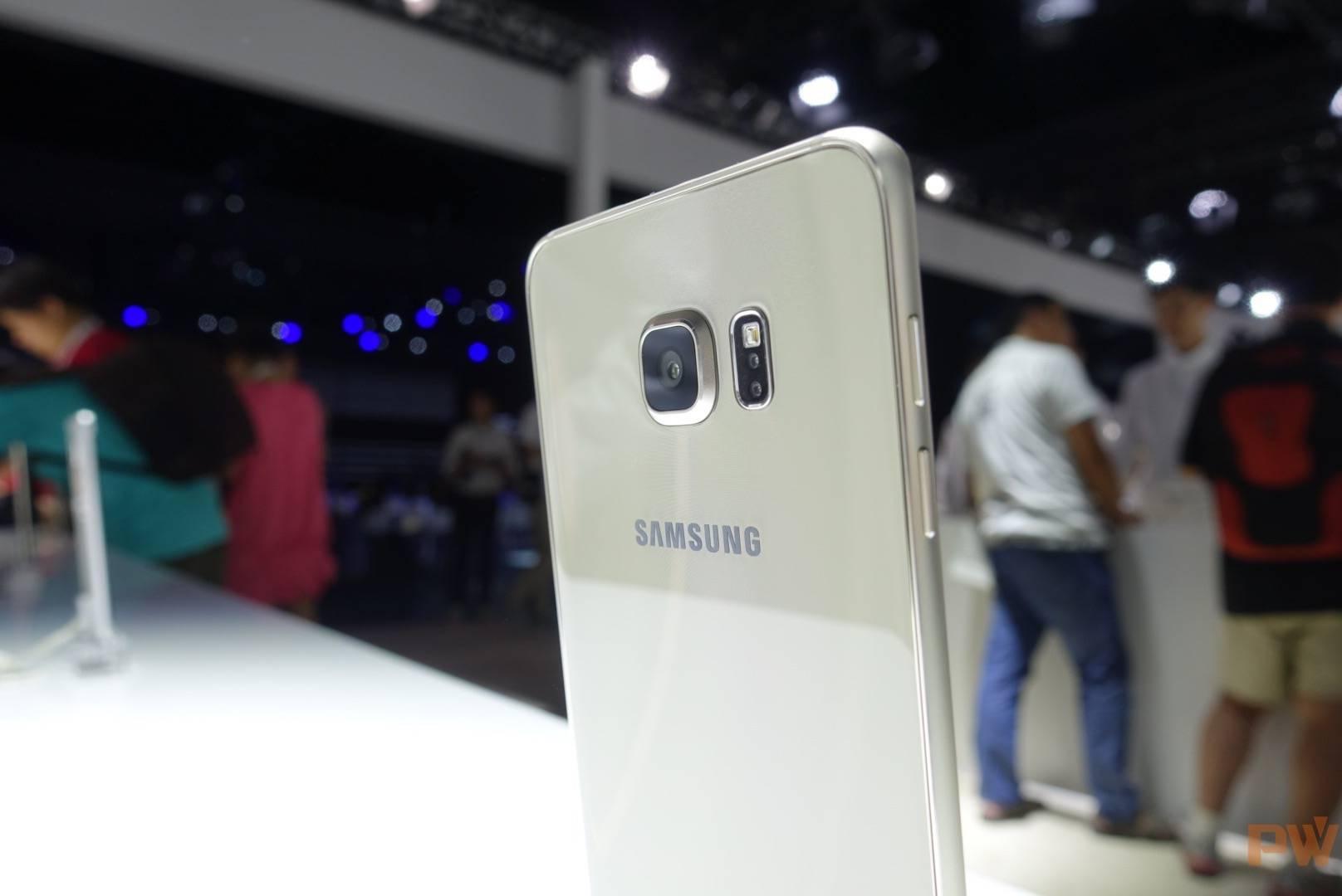 Galaxy S6 Edge Plus背面