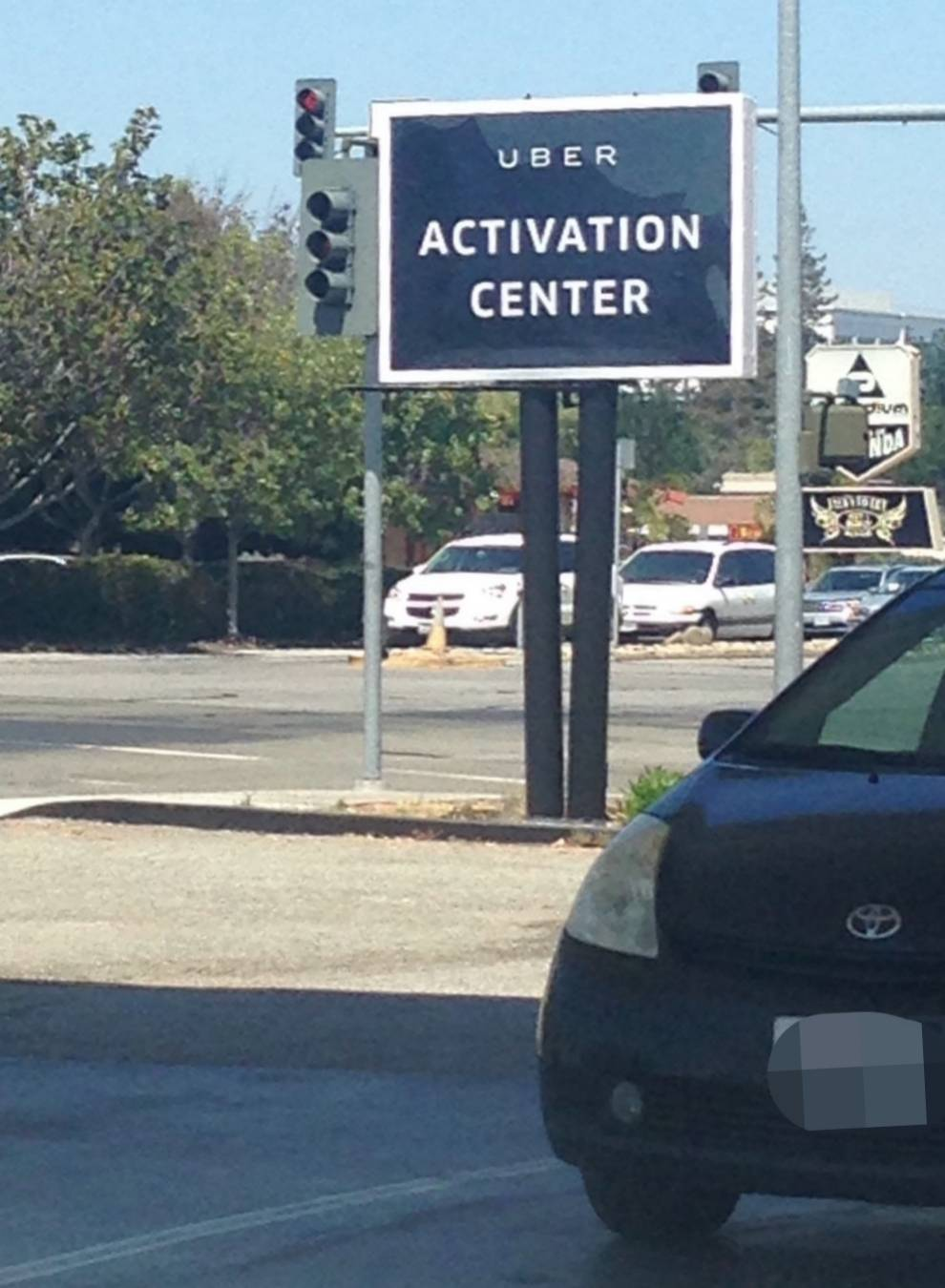 uber activation center