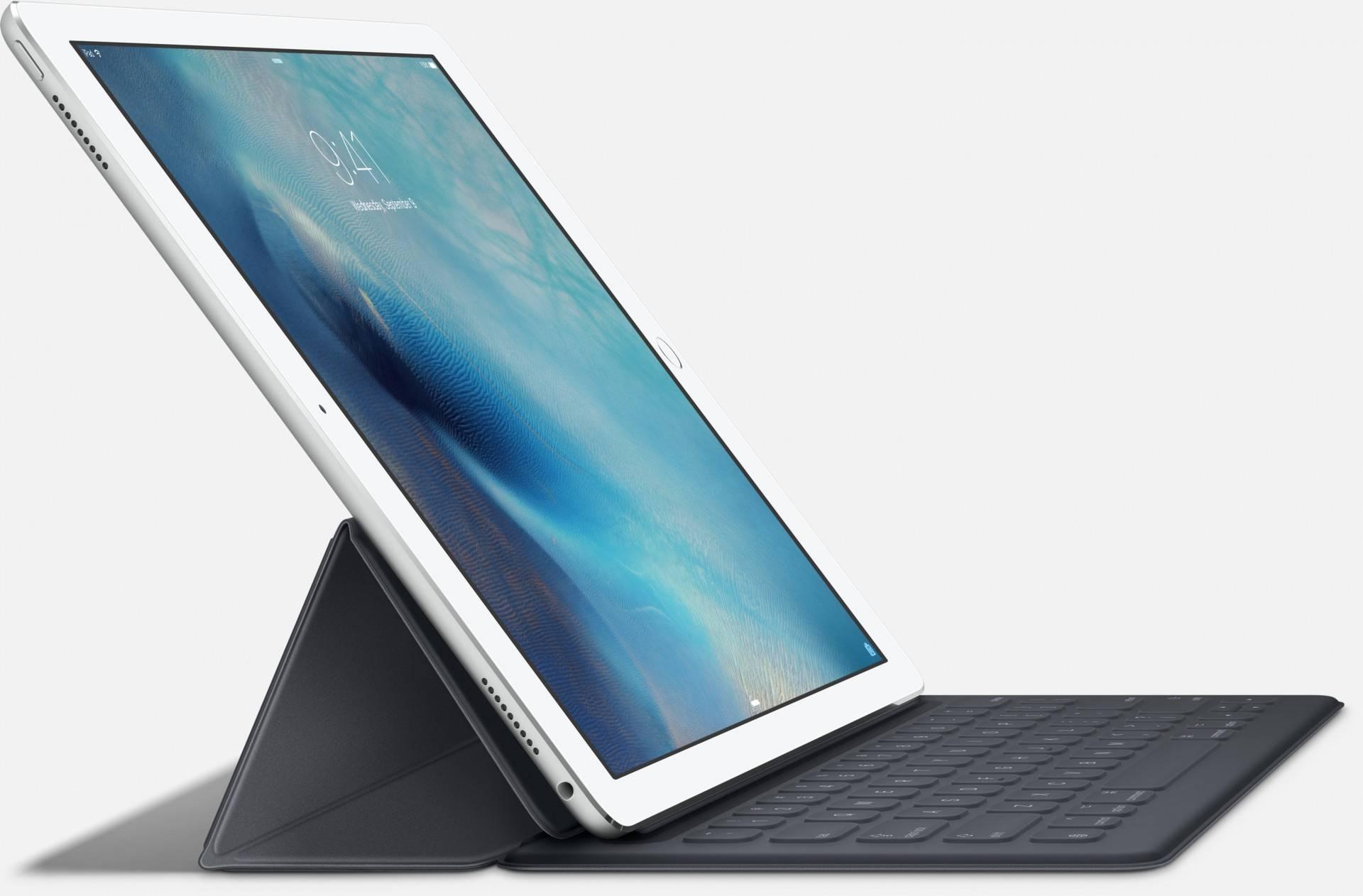 iPad Pro,采用 iOS 作为操作系统,支持分屏多任务同时处理