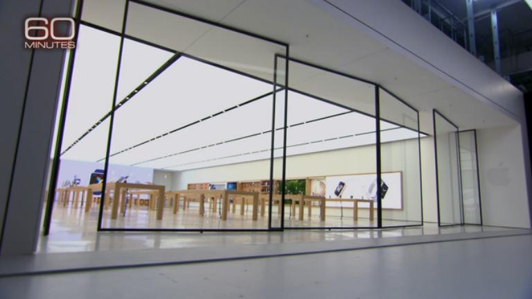 """4,所有苹果的产品都会先做样板——苹果的零售店也不例外。这个""""样板间""""位于苹果总部附近,样板间的设计会一直更新,来保证苹果全球469家零售店能让消费者进门就有""""WOW""""的惊叹。"""