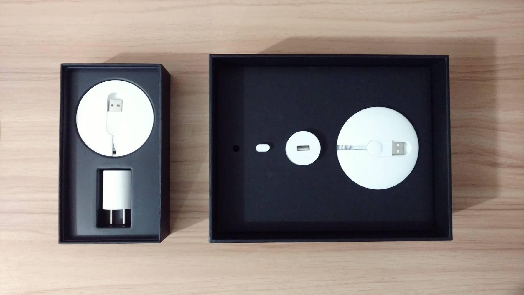 左为 T2 包装盒,右为 T1 包装盒