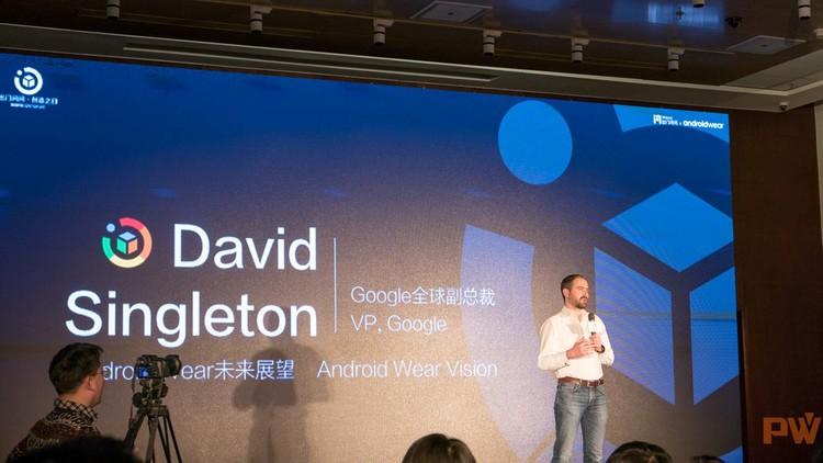 Google 副总裁 David Singleton