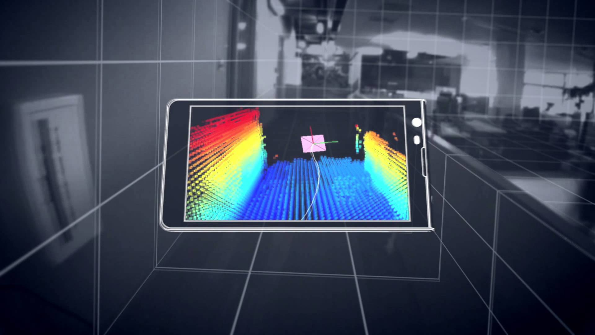 Lenovo Google Project tango PingWest