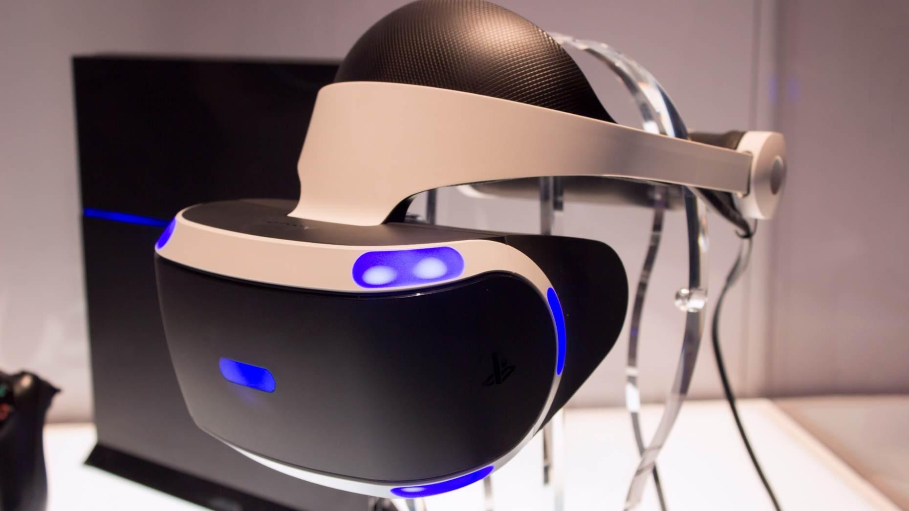 PS VR 以 PlayStation 4 作为主机。/图片来自 Gizmag