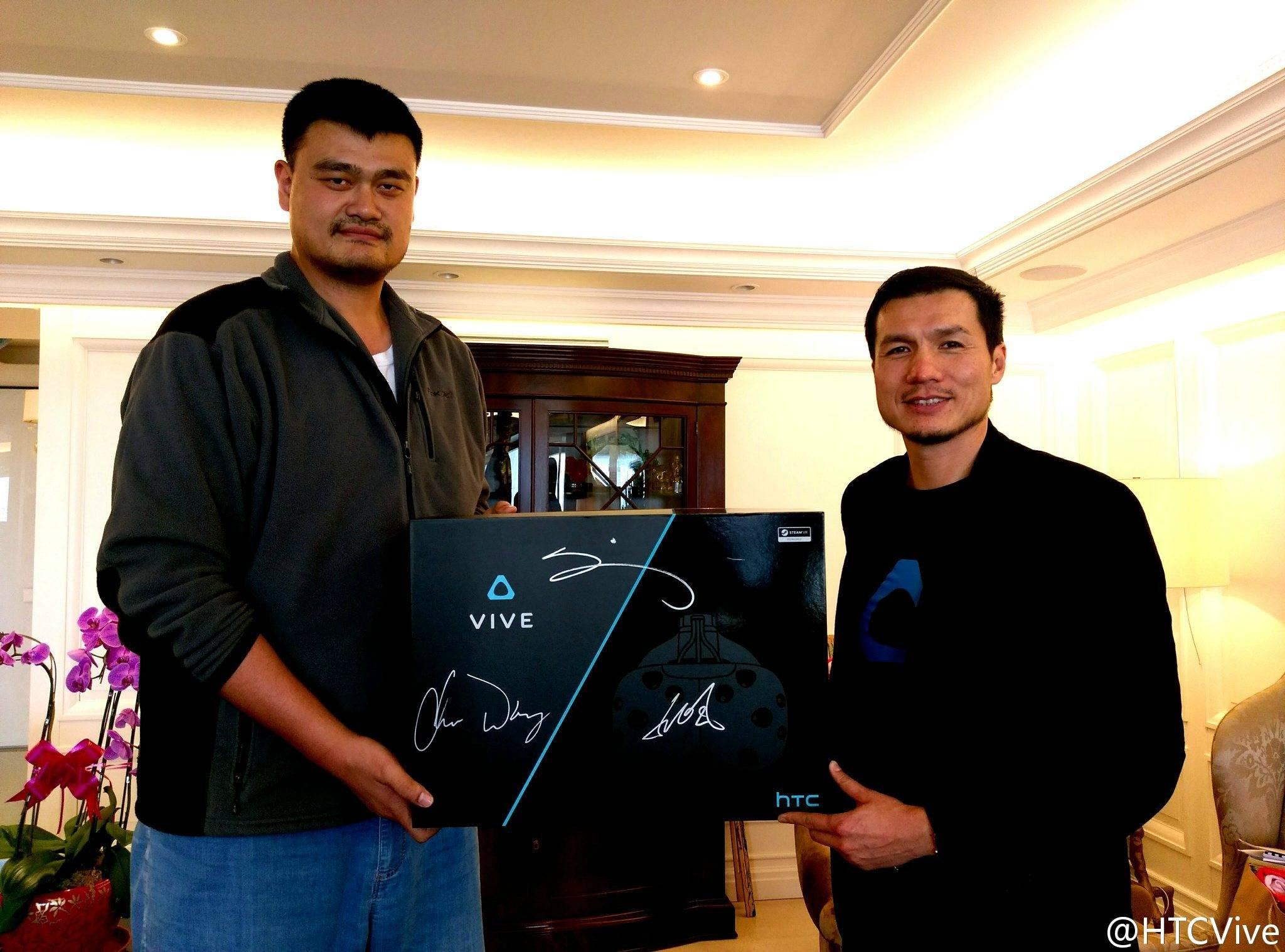 Alvin Wang HTC Vive CEO Yao Ming PingWest Hao Ying