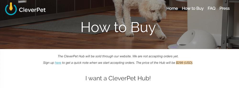cleverpet-hub-price-1