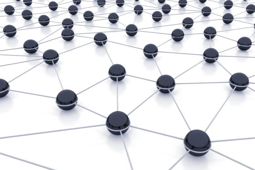 示意图:网状网络