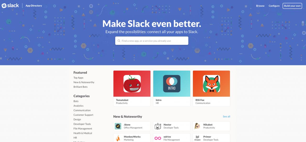 slack-app-store