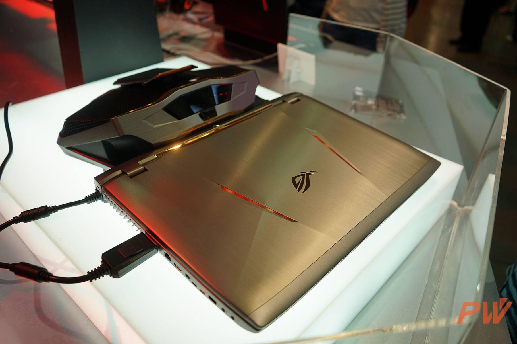 ASUS ROG GX800 COMPUTEX TAIPEI 2016 PingWest Photo By Hao Ying