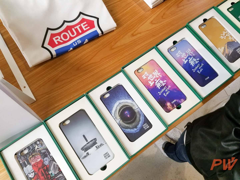 手机保护壳产品,图案均出自穷游设计师之手
