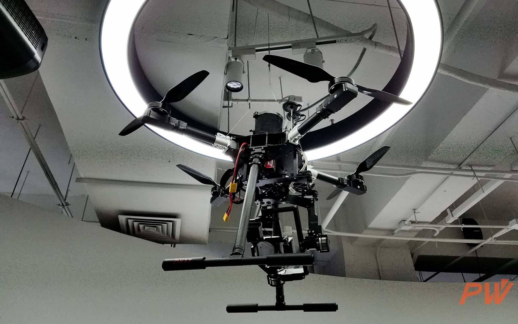 零度智控的专业航拍无人机