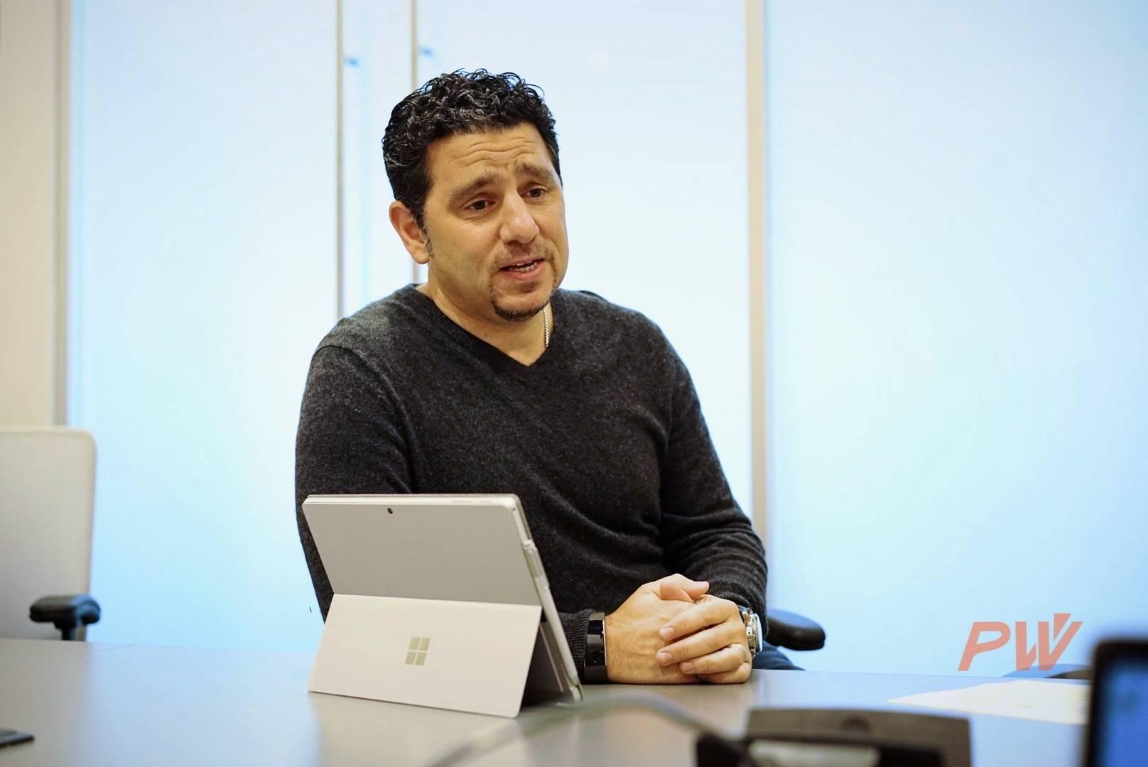 Panos Panay,Surface 计算部门副总裁