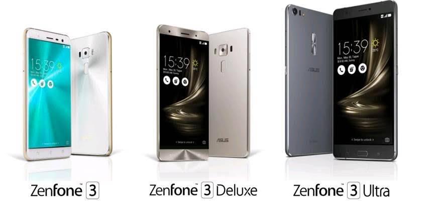 zenfone3 series