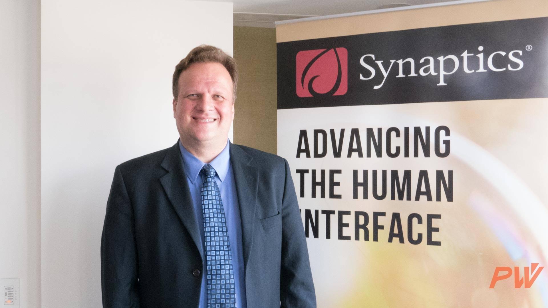 Synaptics 人机界面解决方案部门高级副总裁 Huibert Verhoeven
