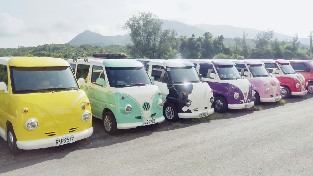 台湾的8座胖胖车 / 8只小猪