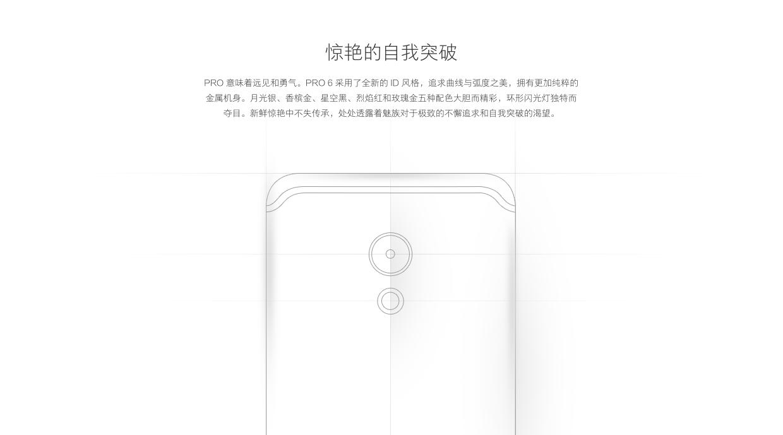 魅族 MX6 采用和 PRO 6 同样的天线设计。
