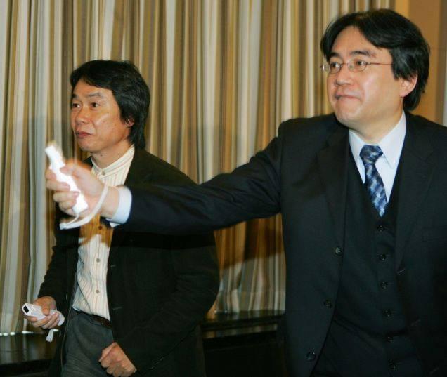 Iwata and Miyamoto