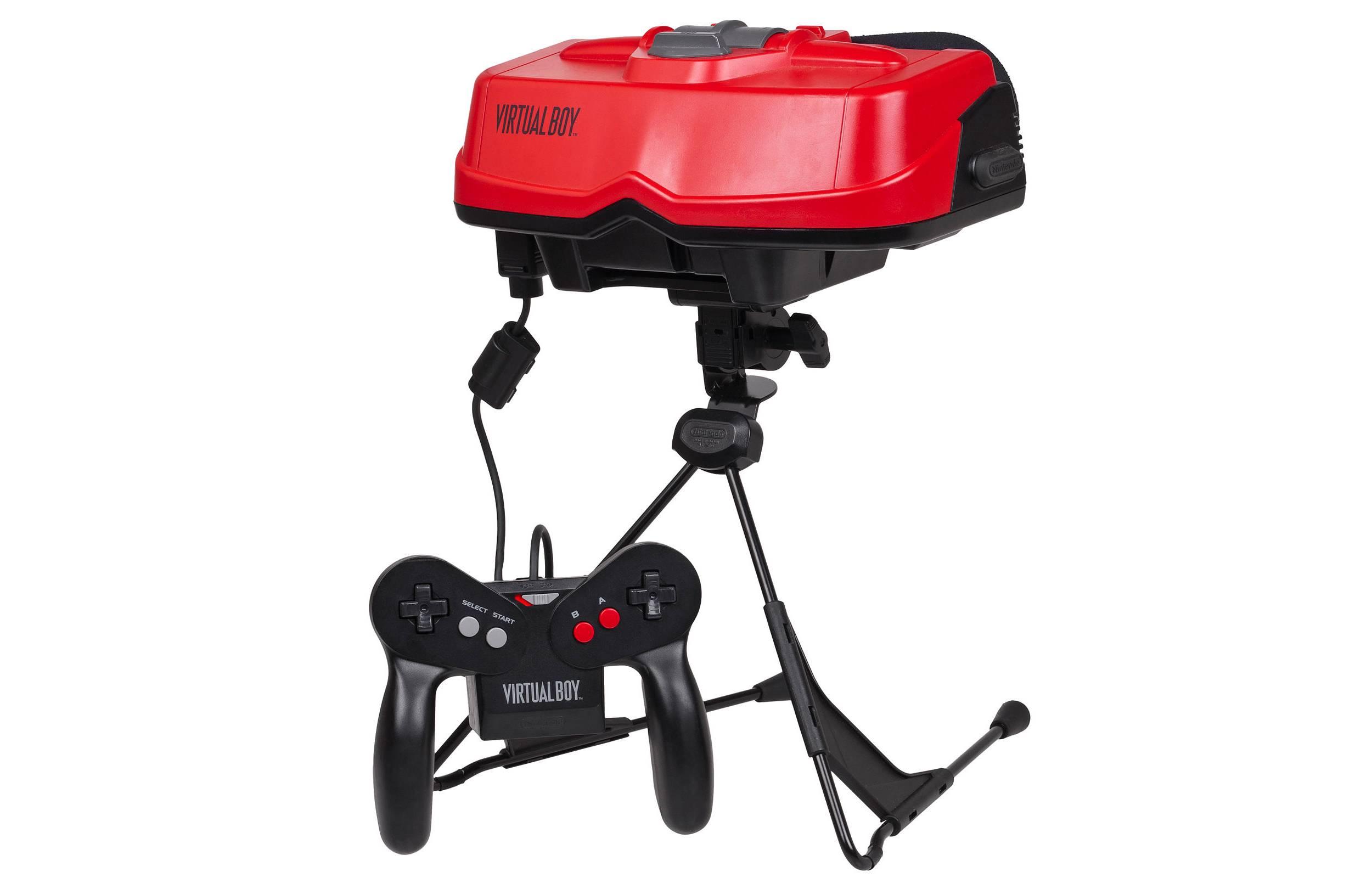任天堂1995年推出的Virtual Boy