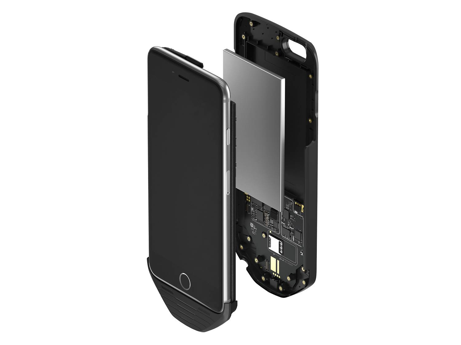 jijia-mesuit iPhone Dual system case battery PingWest 2