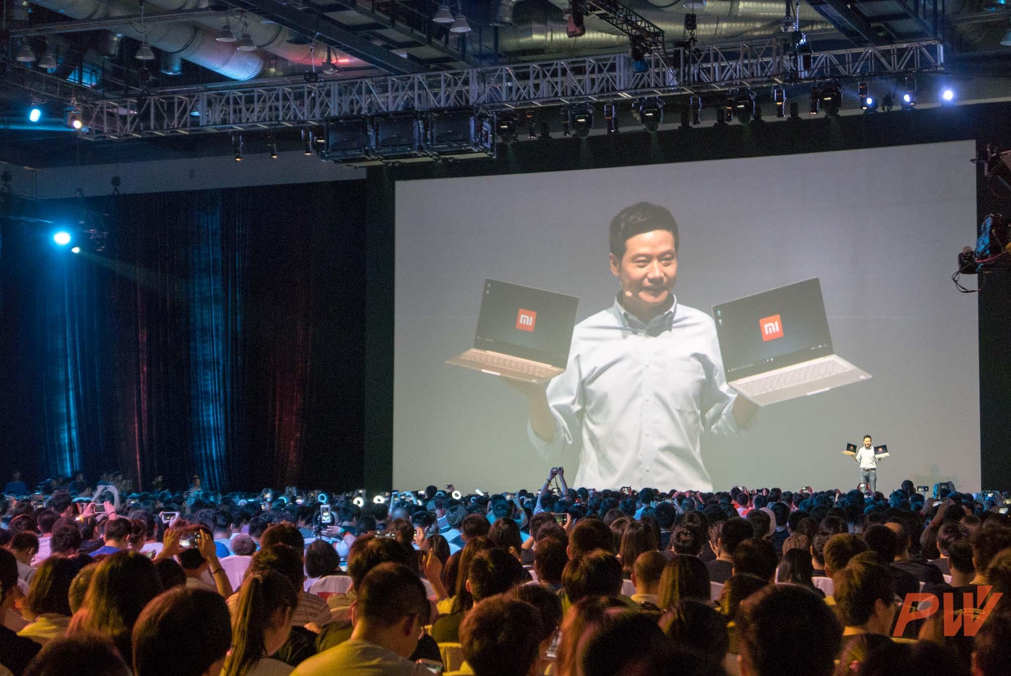 xiaomi Air Laptop PingWest Photo by Hao Ying