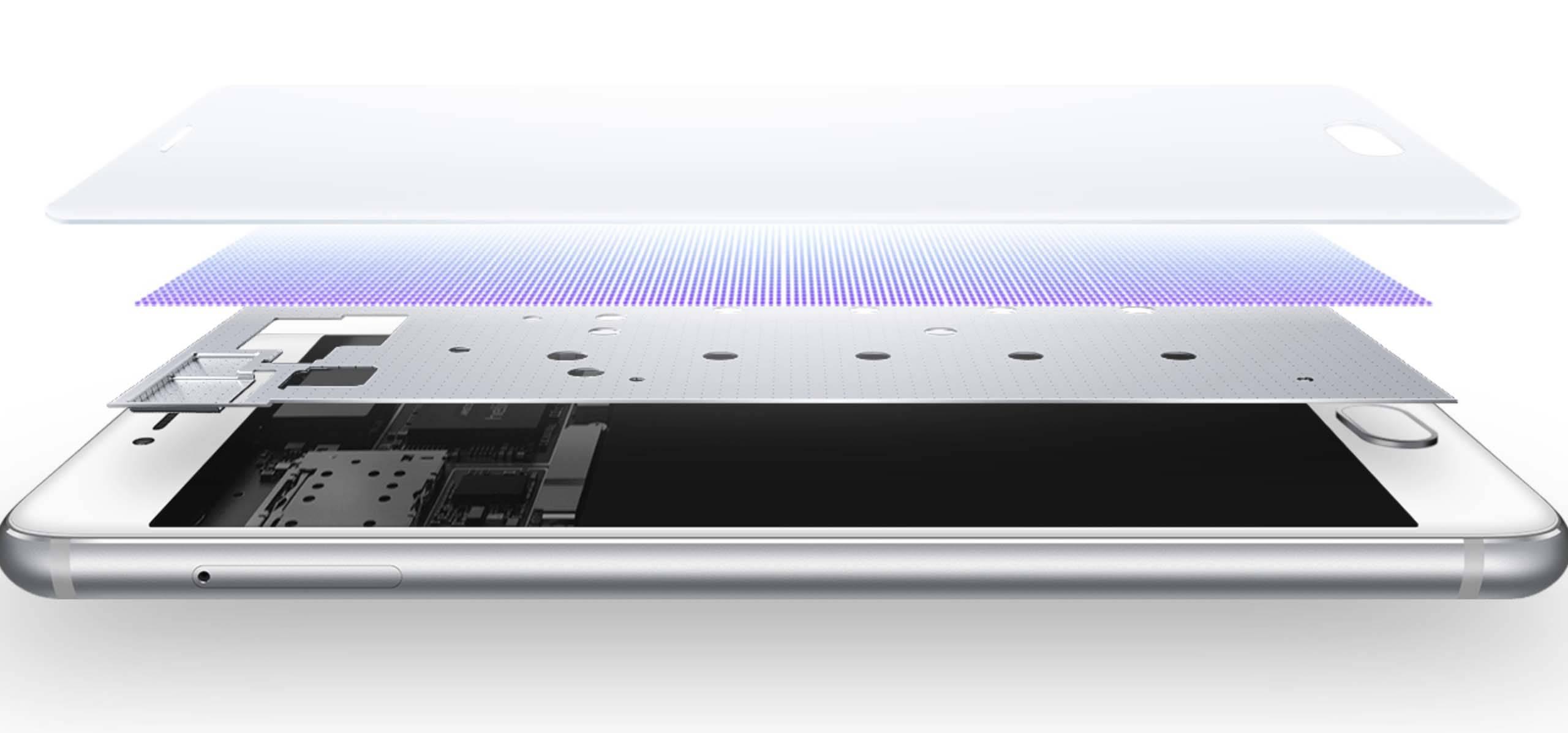 配备触觉反馈的魅族 PRO 6,名字被顺便改成了 3D Press。