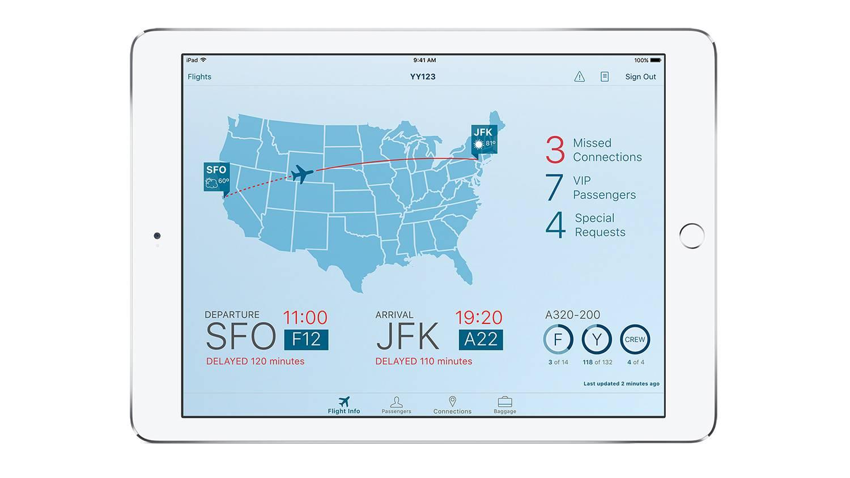 IBM 和苹果一同设计制作的 Passenger+ 应用