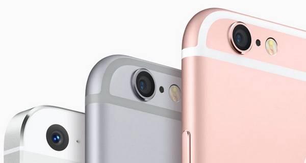 iPhone 6s的摄像头