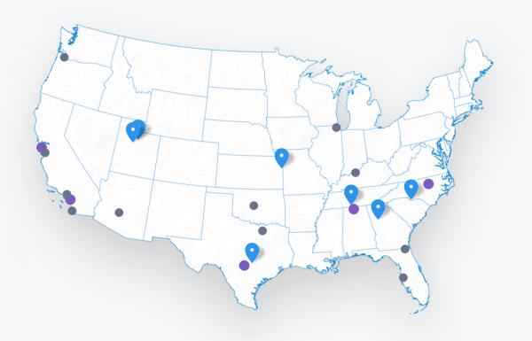 Fiber 仅在数量有限的城市运营,