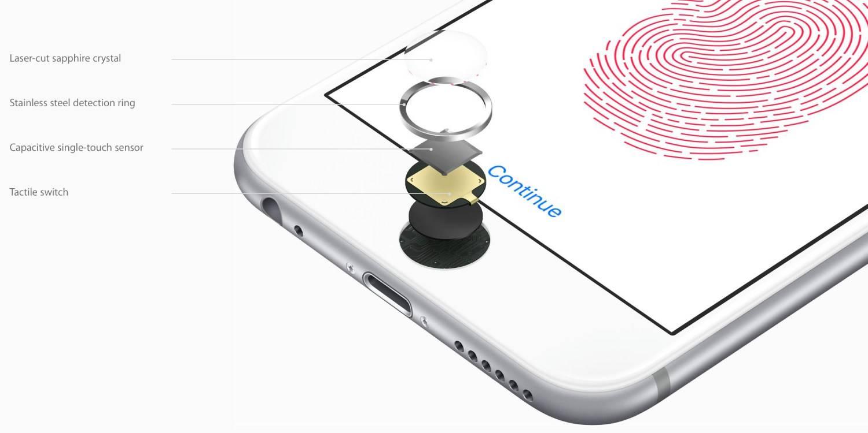 iPhone 指纹识别模组