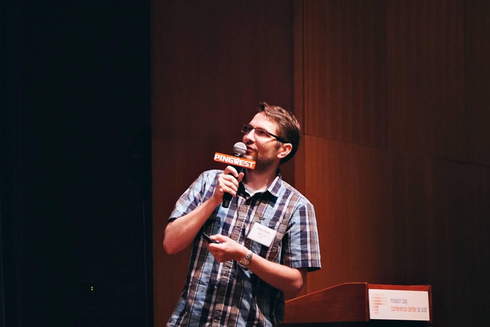 亚当·科茨在 SYNC 2016 SF