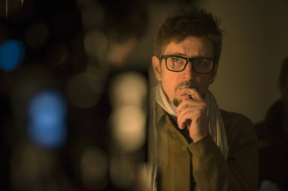 Marvel's DOCTOR STRANGE Director Scott Derrickson on set. Photo Credit: Jay Maidment ©2016 Marvel. All Rights Reserved.