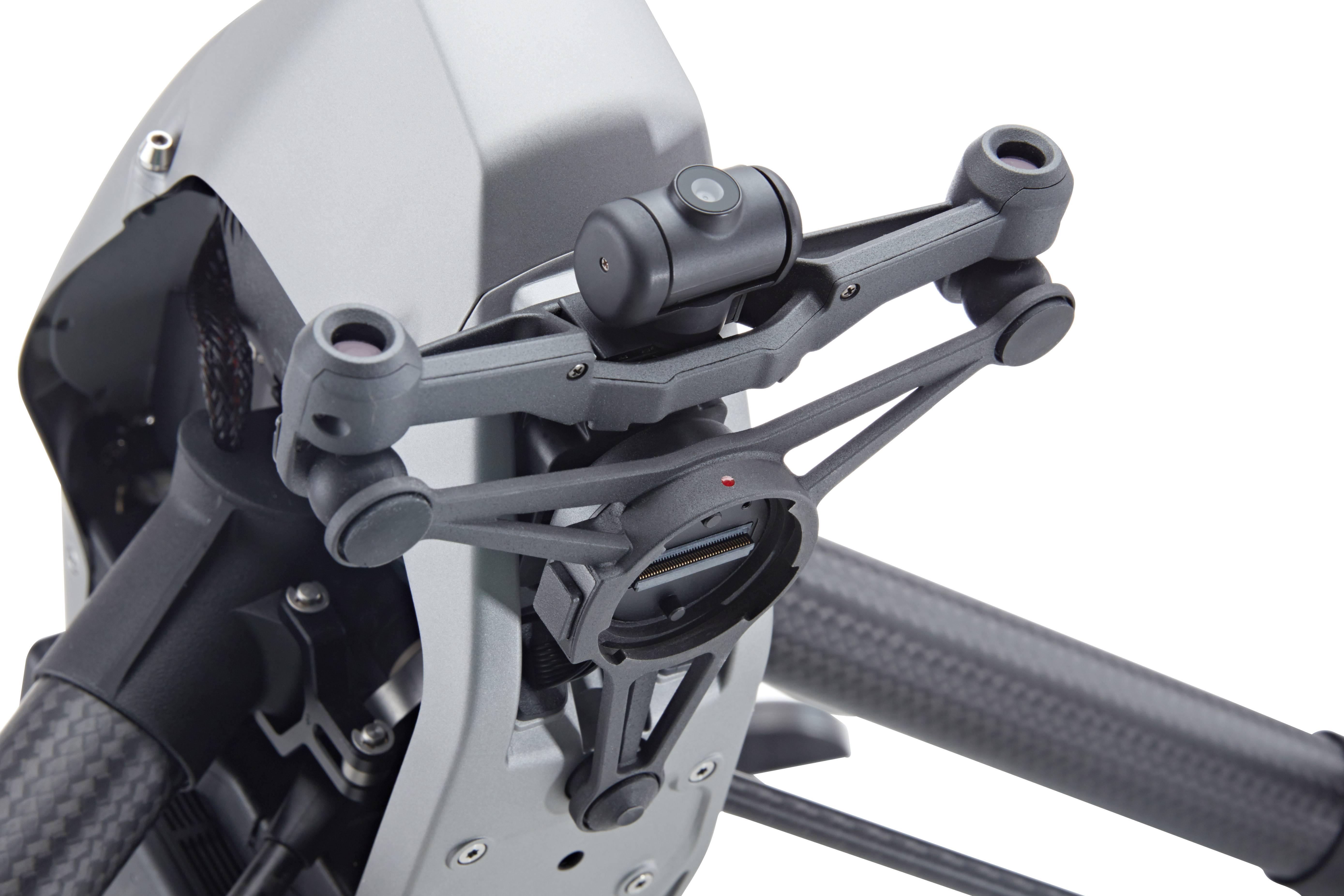 前方用于避障的双目视觉传感器和 FPV 摄像头