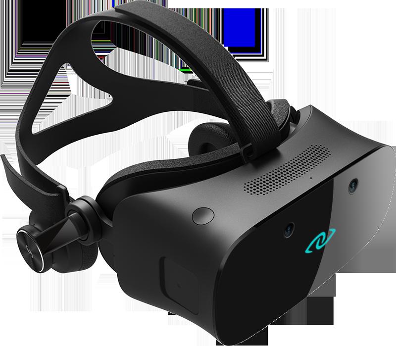 """3Glasses 在 3 月份发布的消费者版本 VR 头盔,已经预留了 2 个用于加装摄像头""""眼睛""""。它和微软的合作""""蓄谋已久"""""""