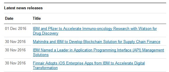IBM官方网站并未对罗睿兰入选有任何表示。